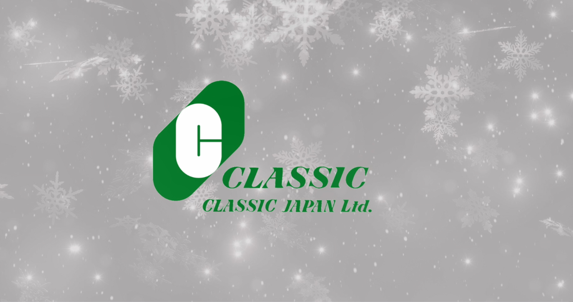 Season's Greeting from CLASSIC JAPAN 2020